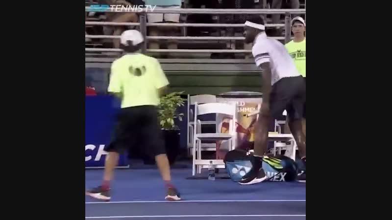 Тиафо в ярости (Betting good tennis)