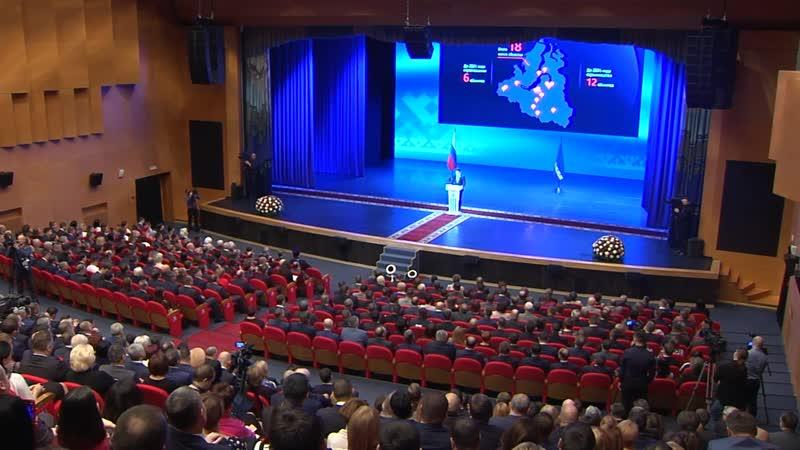 Ежегодный доклад о положении дел в регионе и перспективах развития Ямала - 4 декабря 2018 г.