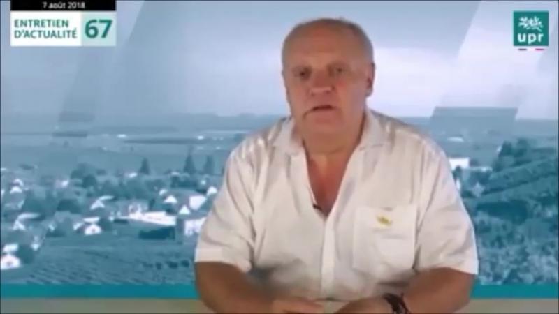François Asselineau Les Français, pour la plupart, croient encore au père Noël