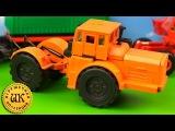 Игрушечный трактор. Коллекция игрушек из СССР