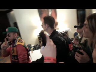 Shannon Leto в отеле Ренессанс Москва Монарх (28/04/18)