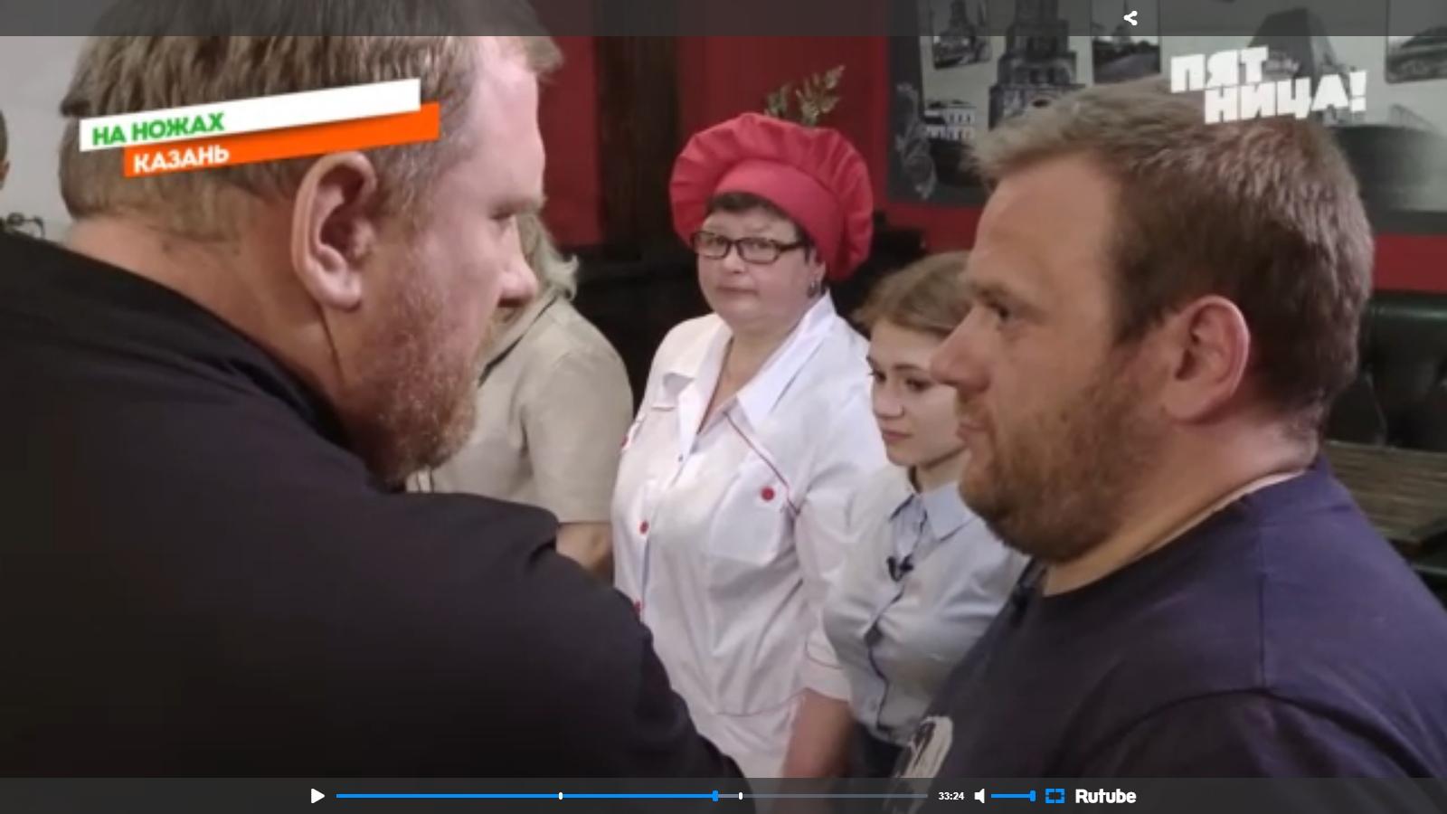 """Подставной актер на канале """"Пятница"""""""