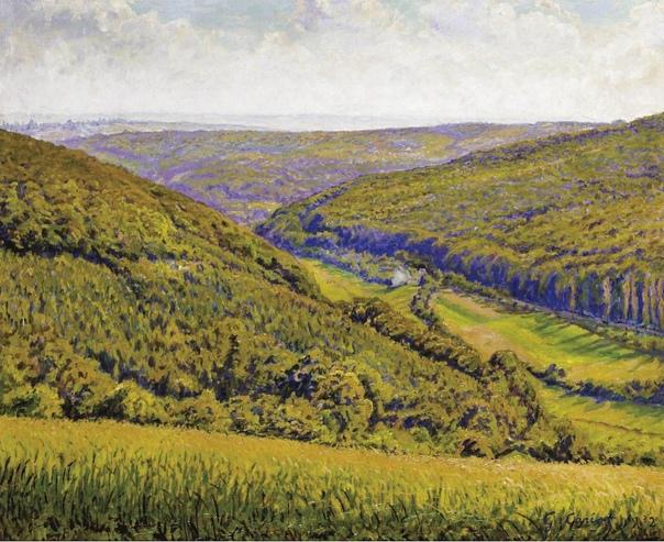 Французский художник Гюстав Кариот (Gustave Cariot)