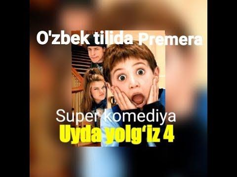 Uyda yolgiz 4 HD ozbek tilida super komediya premera