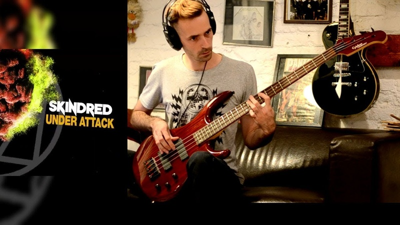 Skindred - Under Attack Bass Cover (Epiphone Embassy Standard IV)