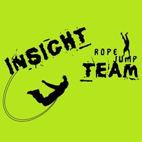 Логотип INSIGHT ropejump TEAM. ПРЫЖКИ С ВЕРЕВКОЙ