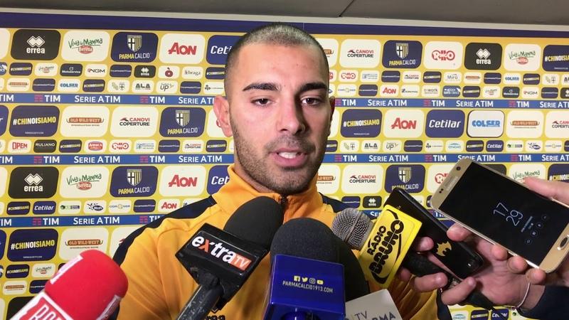 Luigi Sepe dopo Parma-Frosinone