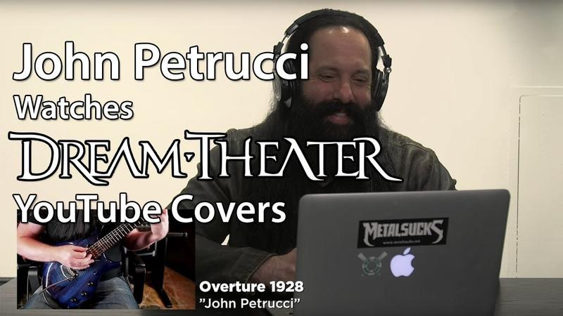 John Petrucci Watches DREAM THEATER Fan YouTube Covers | MetalSucks