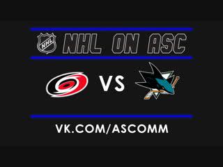 NHL   Hurricanes VS Sharks
