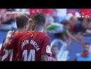 CA Осасуна Реал Спортинг Хихон 1 0 гол Рубена Гарсии со штрафного