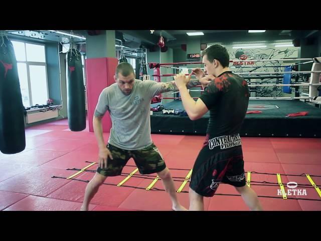 Тренировка на координационной лесенке для «ударников» от Андрея Басынина