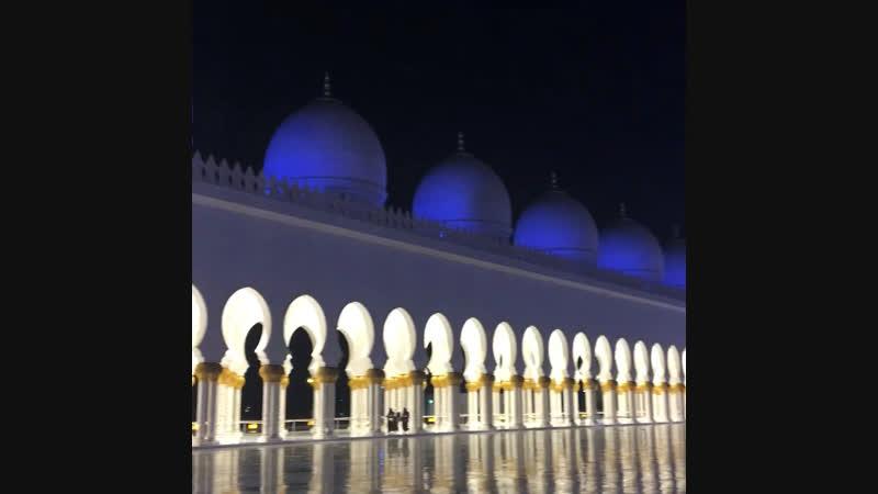🇦🇪 Мечеть 🕌 Шейха Зайда