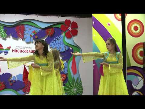 Благотворительный концерт в Мадагаскаре. Восточный танец