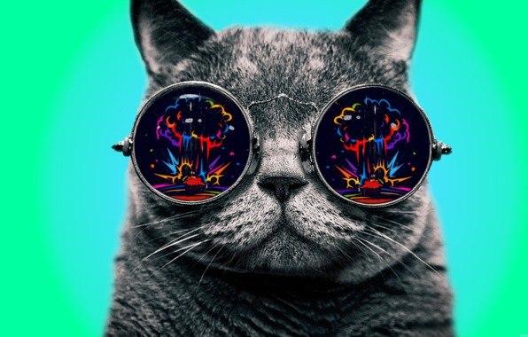 Картинки по запросу ядерный взрыв в очках