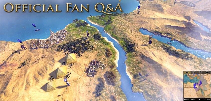 ЧаВо от разработчиков Total War: Rome 2 по результатам E3 2013
