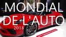 🚗 MONDIAL de l'AUTOMOBILE 2018 à Paris - avec les bruits des moteurs (4K1806)
