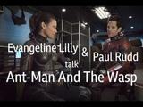 Интервью Эванджелин Лилли и Пола Радда для BBC Radio 5, 30818