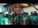 Сенегальцы на Площади Революции