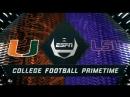 NCAAF 2018 / Week 01 / (8) Miami Hurricanes - (25) LSU Tigers / 1H / EN
