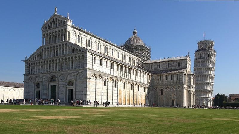 Piazza dei Miracoli Pisa Italy in 4K Ultra HD