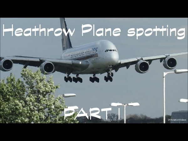 London Heathrow Plane Spotting Compilation. (27Right Arrivals) PART 1