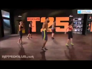 Focus T25 Workout - Sneak Peak - Shaun T's New Workout!