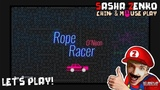 Rope Racer O'Neon Gameplay (Chin &amp Mouse Only)