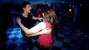 Party in White Rabbit. Michail Ponkin Irina Artemchuk. Zouk improvisation.