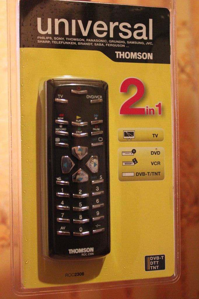 Инструкция Тв Пульт Thomson Roc 6306