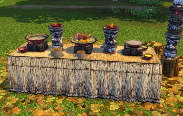 Castaway Stories Buffet Table by BigUglyHag