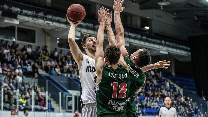 VTBUnitedLeague • Nizhny Novgorod vs Lokomotiv-Kuban Highlights May 12, 2018