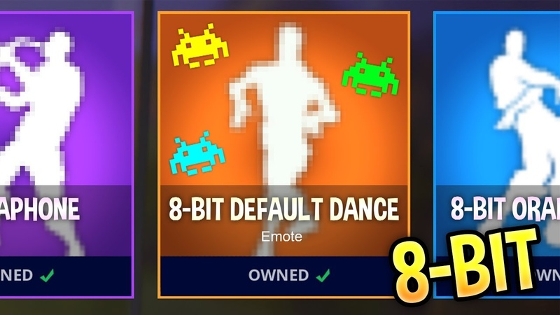I Recreated My Fortnite Emotes Using 8-Bit Sounds..! (SOUNDS BETTER)