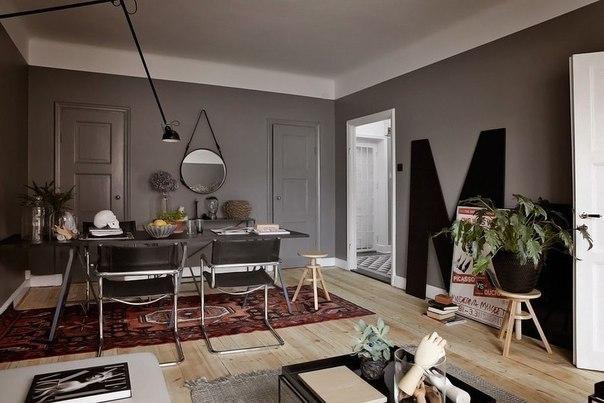 Небольшая уютная шведская квартира площадью 47 кв.м…. (7 фото) - картинка
