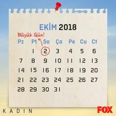 """FOX on Instagram: """"#Kadın için geri sayım başladı! 👊 Büyük güne kimler hazır? @kadindizifox #FOX #FOXTurkiye #ÇokFOX #tv #yerlidizi #dizi #yenisez..."""