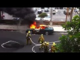 Пожарник даже не шелохнулся...