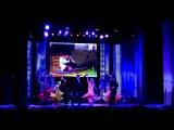Пролог открытия фестиваля народного творчества работников железных дорог Украины (Харьков, 2013)