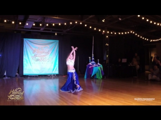 Sofiia Shaniuk  HOA Belly Dance Festival, performing at the Saturday Cultural Gala Show, June 25, 2016. Video by Majestic Photog