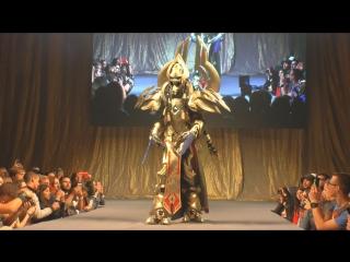 Cosplay Artanis StarCraft 2 /Comic Con Saint Petersburg/