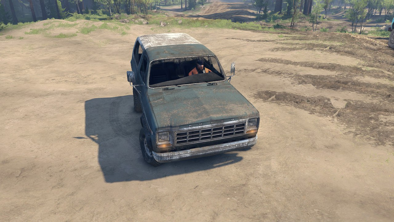 Ford Bronco для Spintires - Скриншот 1