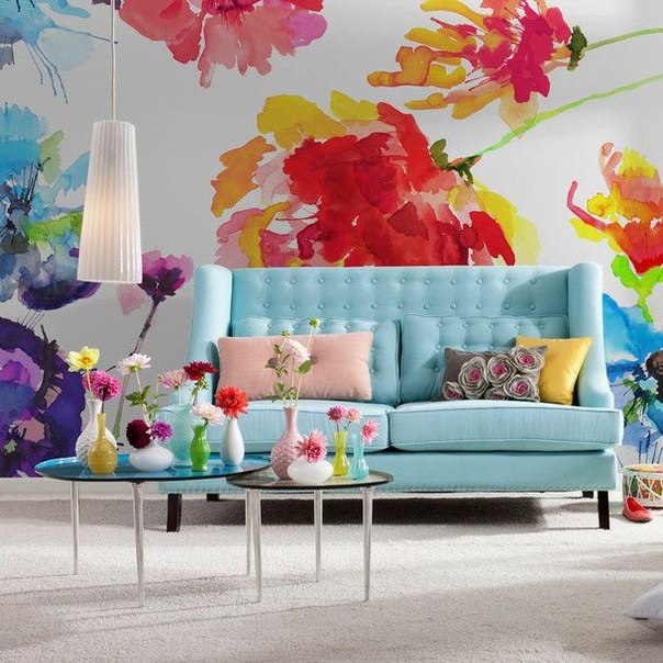 Wall decals floral