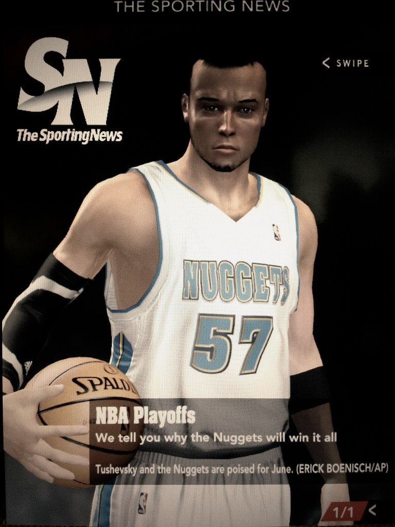 the sporting news my player
