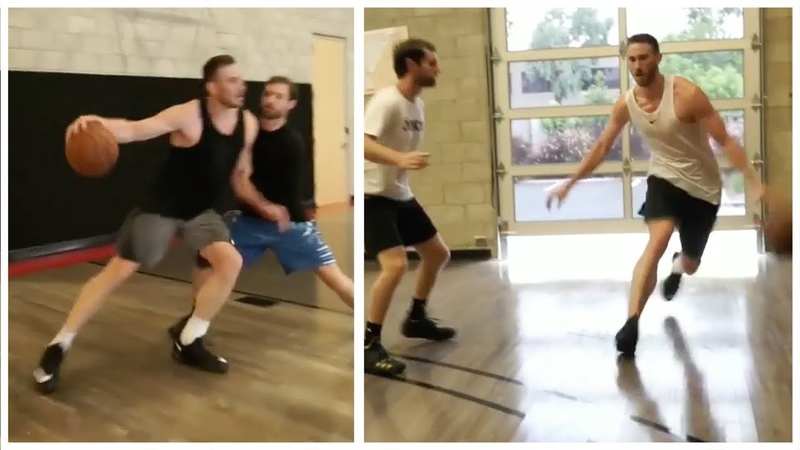 Gordon Hayward is now Back in the Gym Working on his game after injury