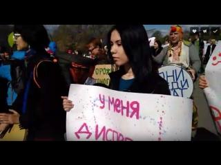 Омский Первомай live: демонстрация & омстрация