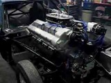 дрэговый мустанг с двигателем от танка Шерман 3