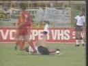 David Platts finish ENGLAND vs BELGIUM ITALY 90 World cup