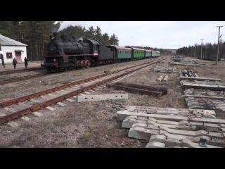 0513 - Паровоз Эу 683-32 на приморской железной дороге