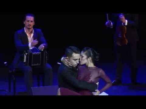 Jonathan Saavedra Clarisa Aragon Solo Tango Orquesta Gallo Ciego