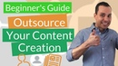 How to Outsource Content Creation: 4 Step Content Blocking For Great Content (Blogging Video)
