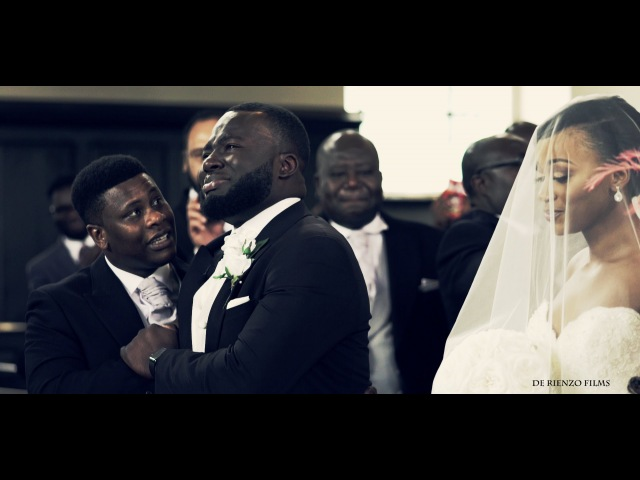 The most breathtaking bridal entrance ever. Groom cries when he sees his bride.