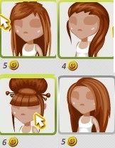 Причёски девушек в аватарии